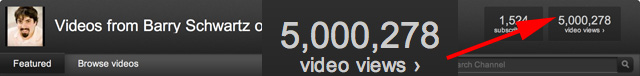 5 Million YouTube RustyBrick Views